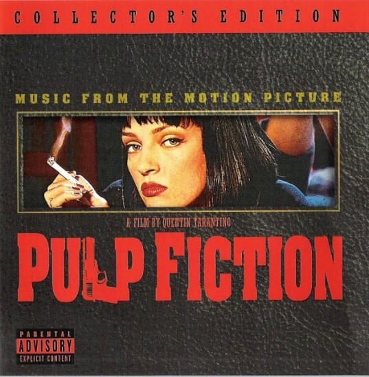 Banda sonora de Pulp Fiction de Tarantino en Spotify
