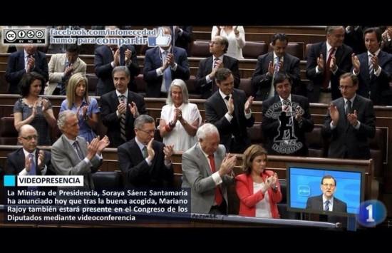Rajoy, el tele presidente