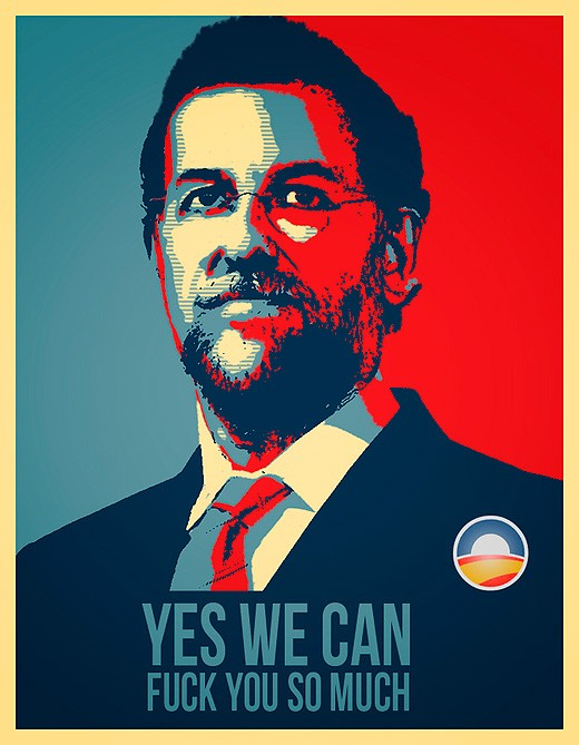 Rajoy yes we can for Bett yes we can