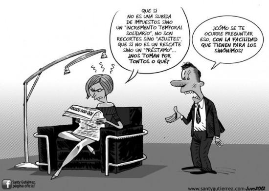 Facilidad para los sinónimos del gobierno