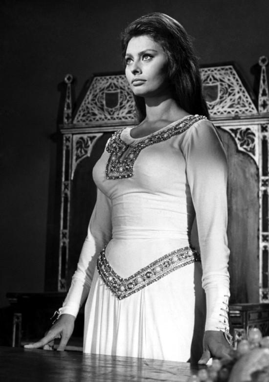 Sofía Loren en El Cid