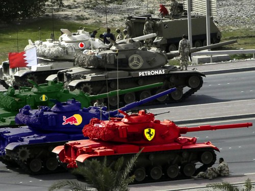Nuevos modelos para el gran premio de Barhein de Fórmula 1