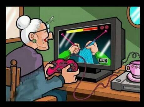 Videojuegos para la tercera edad