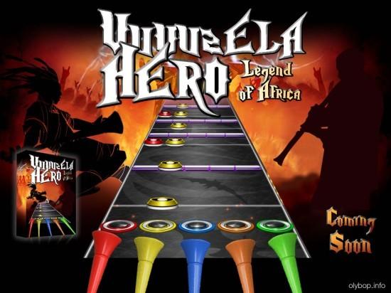 Nuevo juego: Vuvuzela Hero