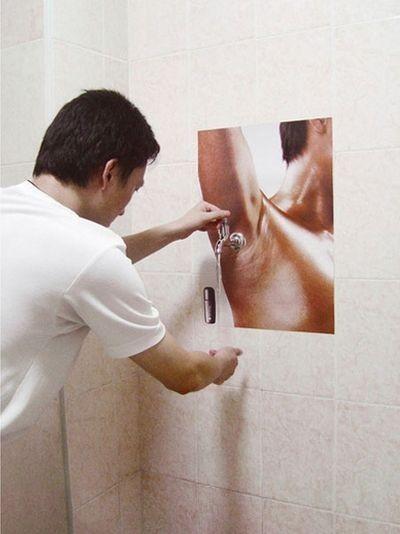 Publicidad desodorante: Sudor bajo control