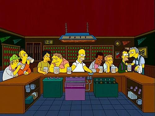 Ultima cena simpsons