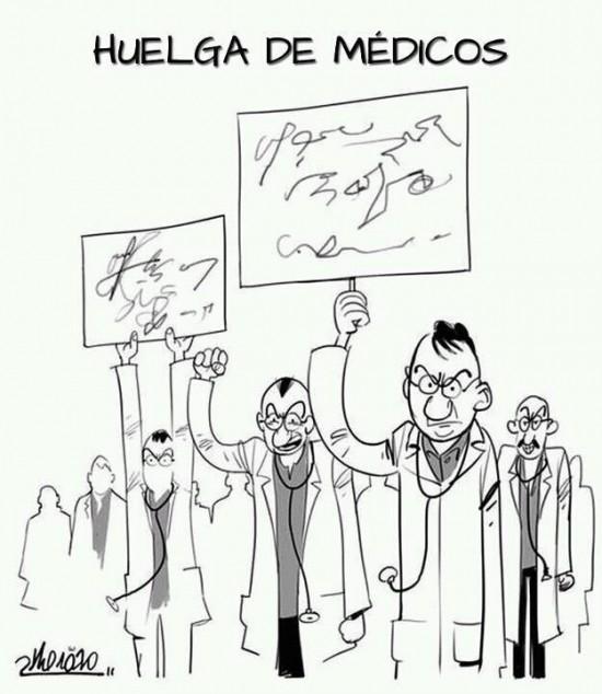 Huelga de médicos