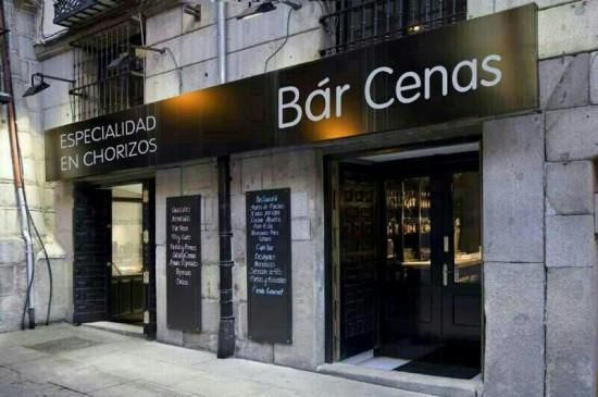 Bar Cenas, especialidad en chorizos