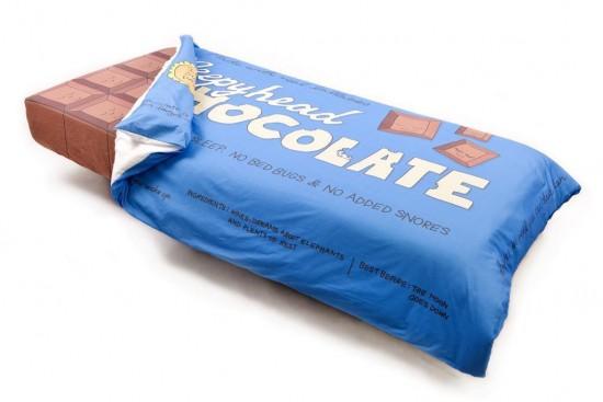 La cama de chocolate