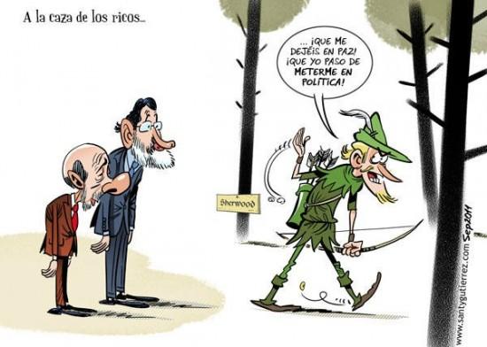 Políticos a la caza de los ricos