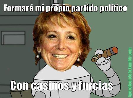 El verdadero motivo de la dimisión de Esperanza Aguirre