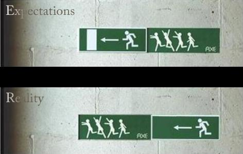Expectativas y realidad