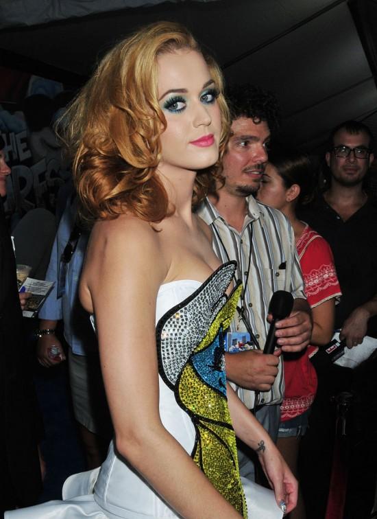 Katy Perry y su vestido de la pitufina