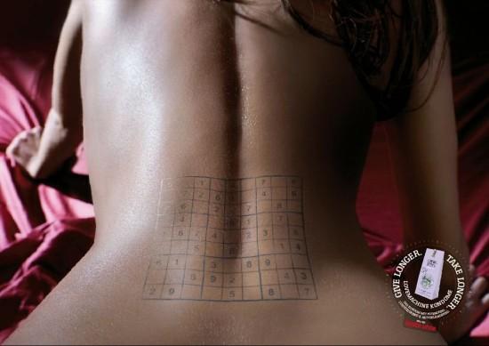 Publicidad Creativa: Un sudoku?