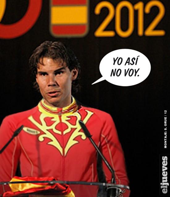 El verdadero motivo del por qu� Rafa Nadal no va a las olimpiadas
