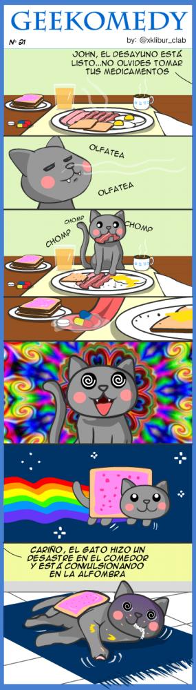 Los orígenes del nyan cat