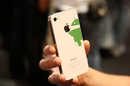 La mejor pegatina para poner en un iphone :P