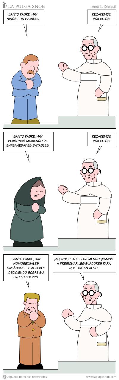 Las prioridades de la Iglesia