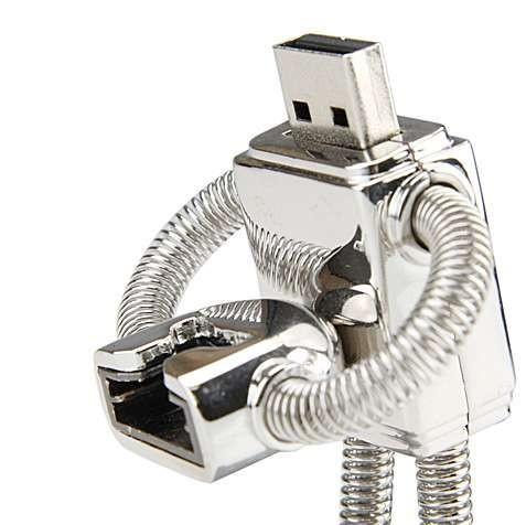 Memoria USB con forma de Bender (Futurama)