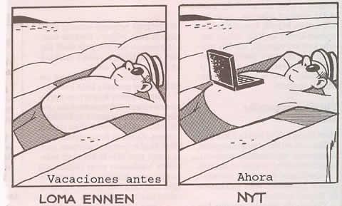 Las vacaciones antes y ahora