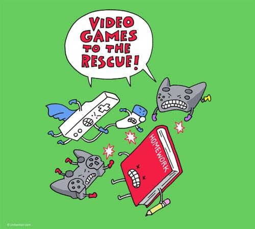 Videojuegos al rescate!