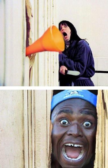 El resplandor 2: El ataque de las vuvuzelas