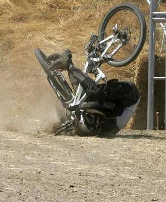 Caidas en Bici