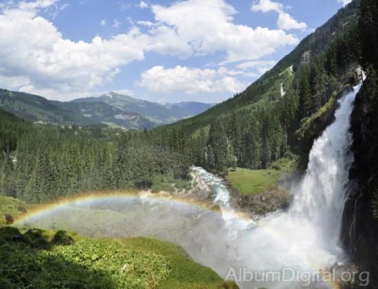 Cataratas de Krimml en el Tirol