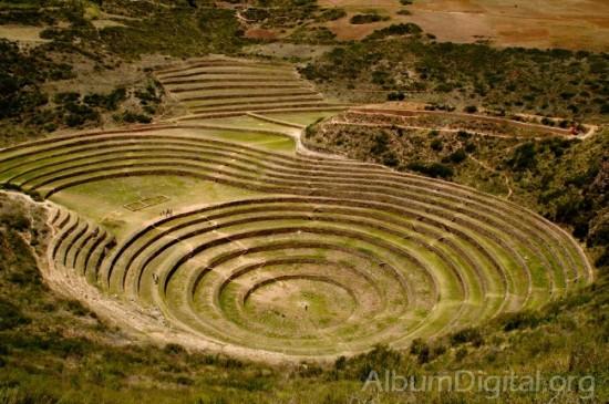 Círculos de los Incas de Moray - Perú