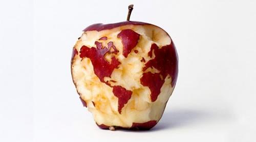 La manzana del Mundo