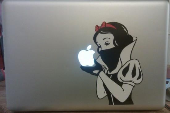 La nueva manzana de Blancanieves