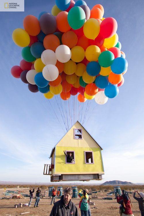 La casa de Up en la vida real