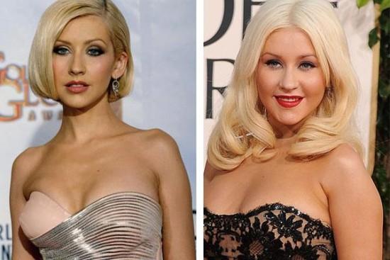Christina Aguilera antes y despu�s