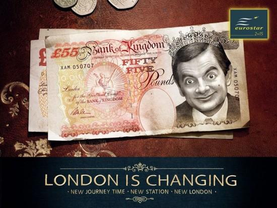 Los nuevos billetes ingleses