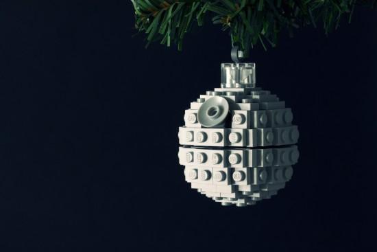 Adornos originales de Navidad - La estrella de la muerte