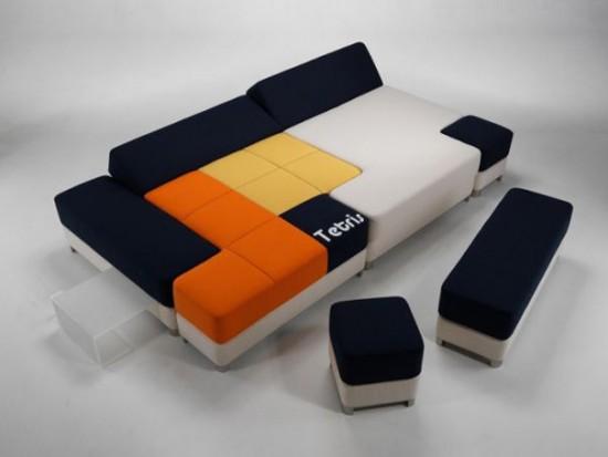 Sofá tetris