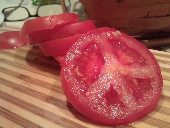 El tomate símbolo de la paz