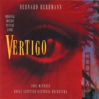 Banda sonora de Vértigo de Alfred Hitchcock- BSO