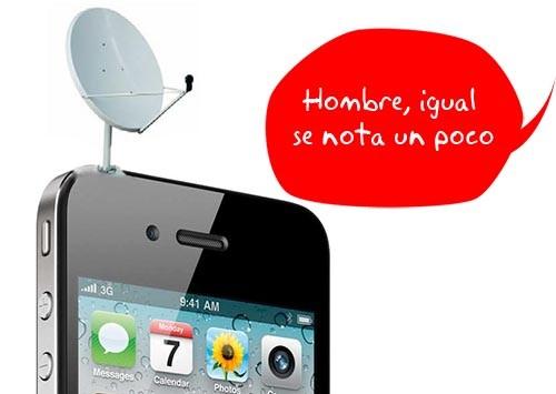 Solución a los problemas de antena del Iphone