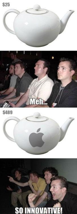 La innovaciones de Apple