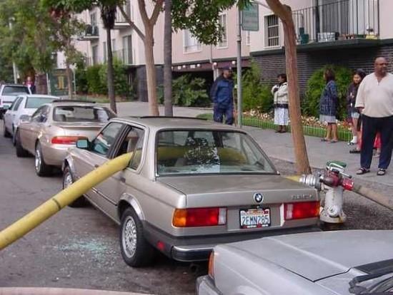 Por qué no aparcar junto a las bocas de riego