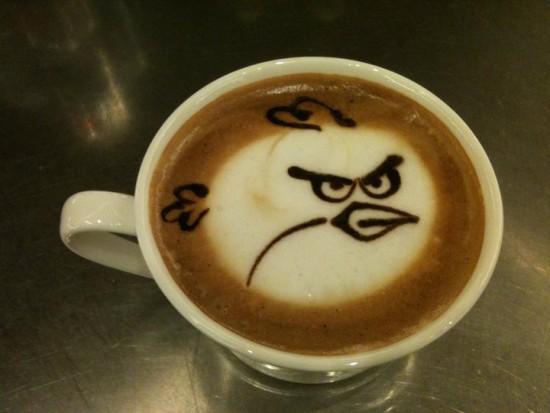 Café de Angry Birds