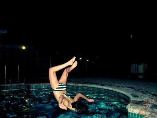 Como no tirarse a la piscina