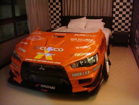 La cama coche, o el coche cama