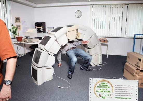Como divertirse en el trabajo
