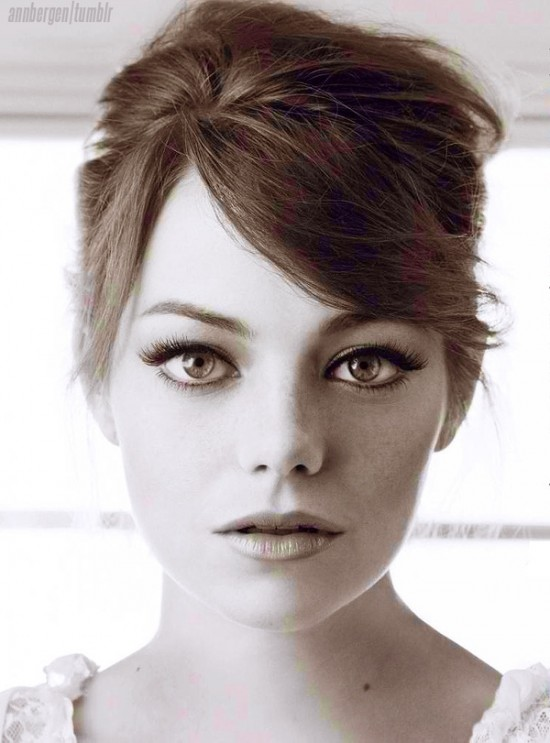 Emma Stone una pelirroja de cine