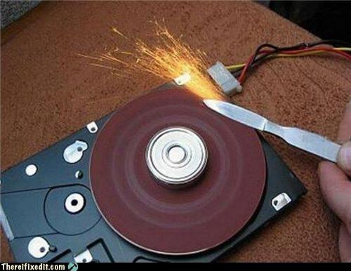 Como formatear el disco duro a mano