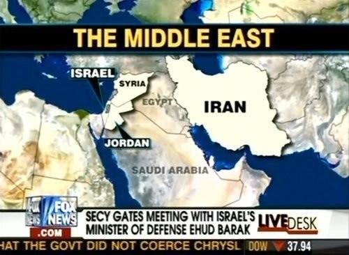 Donde creen los americanos que está Egipto