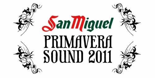 Grupos del San Miguel Primavera Sound 2011