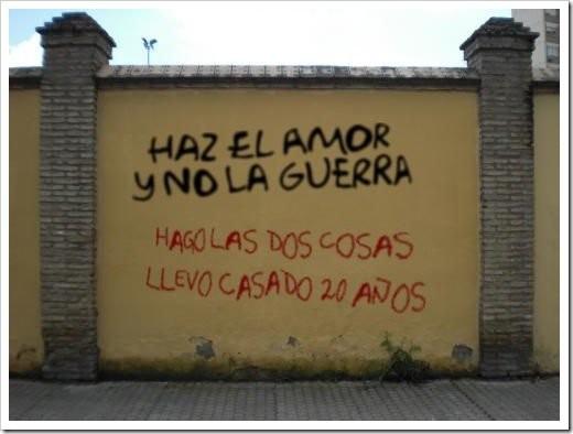 Haz el amor y no la guerra